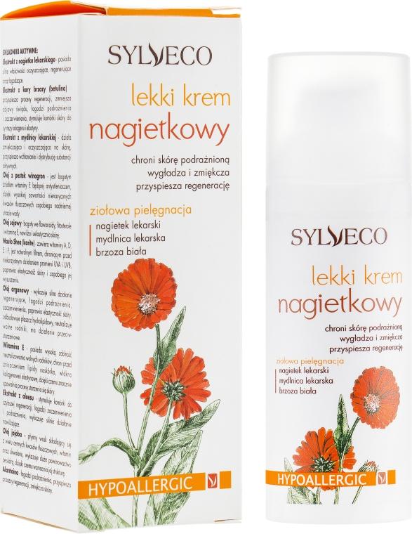 Легкий крем для лица с календулой - Sylveco