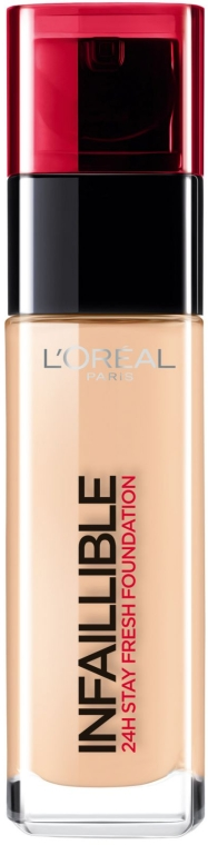 Тональный крем - L'Oreal Paris Infallible 24h Stay Fresh Foundation