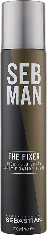 Мужской лак для волос - Sebastian SebMan The Fixer High Hold Spray