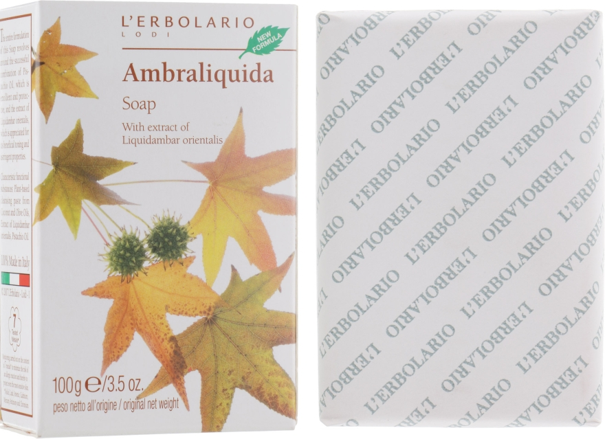 "Душистое мыло ""Легкая амбра"" - L'Erbolario Ambraliquida Sapone"