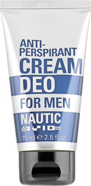 Антиперспирант део-крем - Mades Cosmetics Nautic Deo Cream For Men