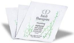 Духи, Парфюмерия, косметика Натуральные салфетки для снятия лака - Fresh Therapies Natural Nail Polish Remover Wipes