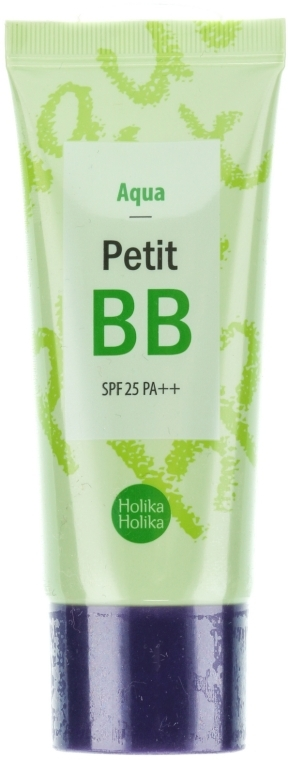 Освежающий BB крем для лица - Holika Holika Aqua Petit BB Cream SPF25