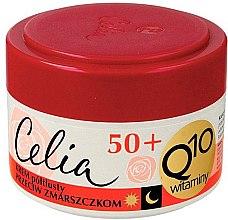 Духи, Парфюмерия, косметика Крем против морщин - Celia Q10 Vitamin 50+