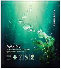 Духи, Парфюмерия, косметика Гидрогелевая маска с морским коллагеном - Nature Republic Aqua Collagen Solution Marine Hydrogel Mask