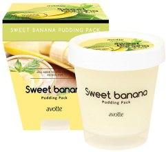 Духи, Парфюмерия, косметика Пудинг-маска - Avotte Sweet Banana Pudding