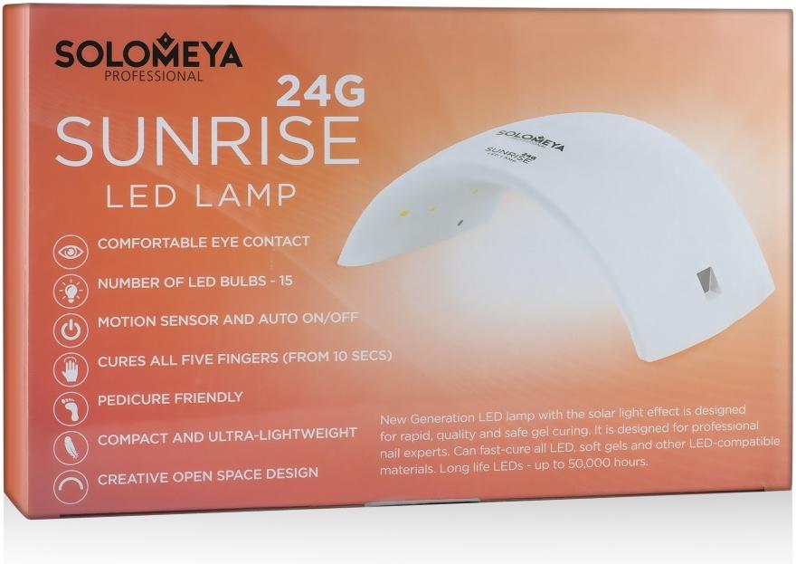 Профессиональная сенсорная LED-лампа 24G - Solomeya Sunrise 24G