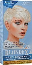 Духи, Парфюмерия, косметика Средство для осветления волос, комплект - Supermash Blondex Arctic