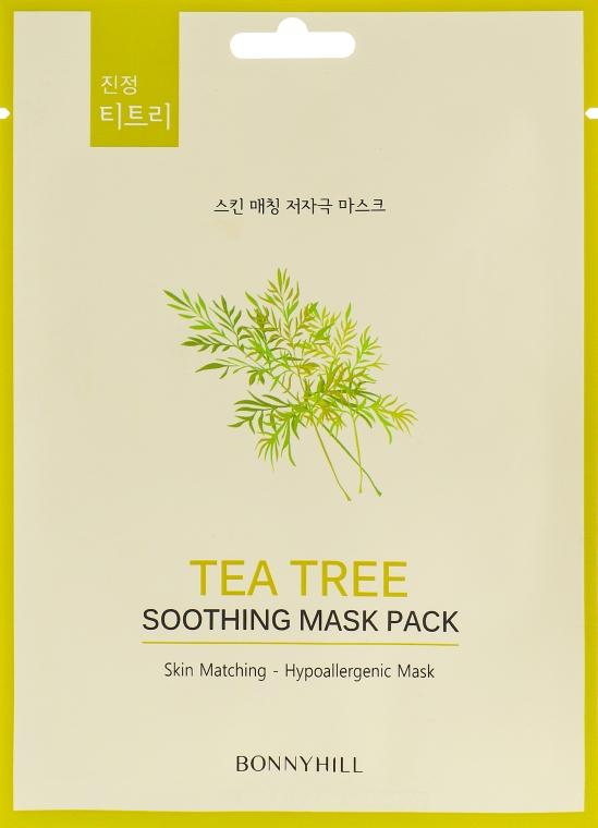 Тканевая маска с экстрактом чайного дерева - Beauadd Bonnyhill Mask Pack Tea Tree