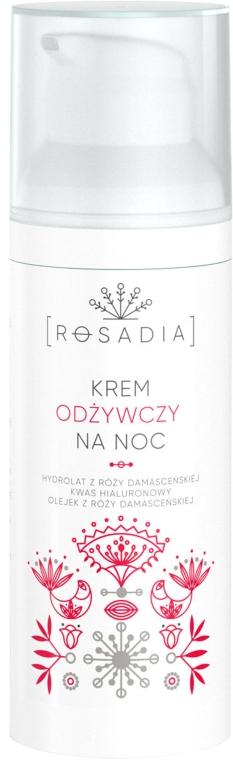 Питательный ночной крем для лица - Rosadia Face Night Cream