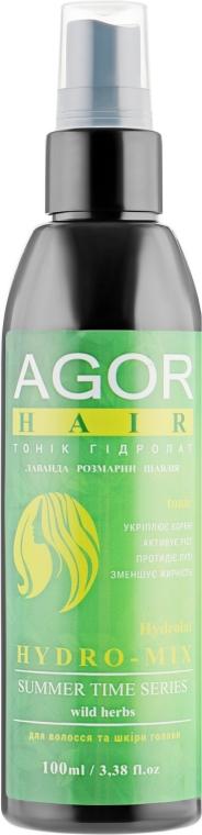 "Тоник для волос ""Гидролат Hydro-Mix"" - Agor Summer Hair Tonic"