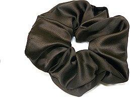 Духи, Парфюмерия, косметика Резинка для волос P1600-9, 11 см d-5,5 см, коричневая - Akcent