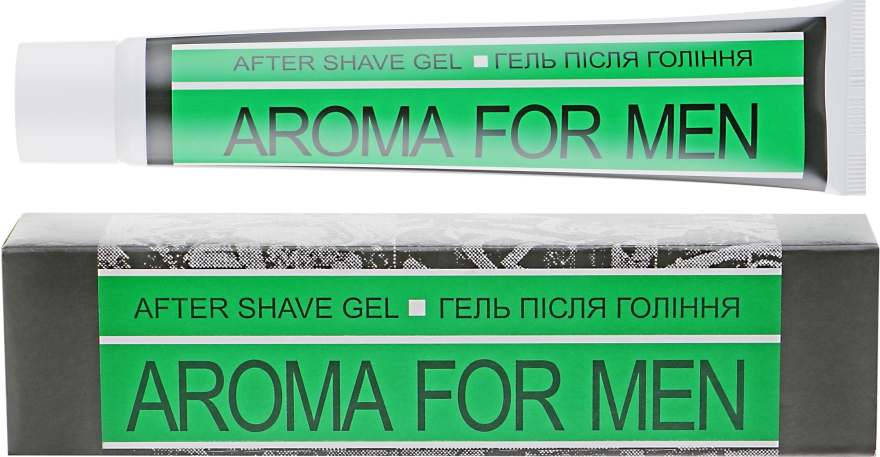 Гель после бритья - Aroma For Men After Shave Jelly