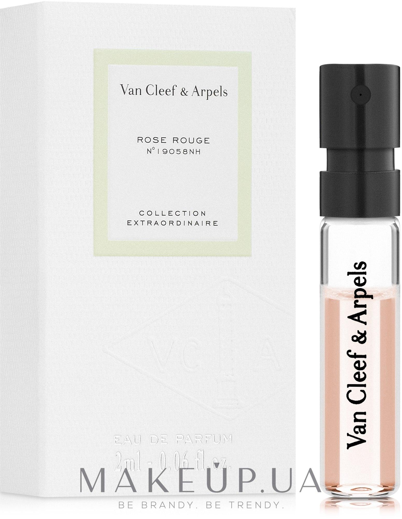 Van Cleef & Arpels Collection Extraordinaire Rose Rouge - Парфюмированная вода (пробник): купить по лучшей цене в Украине - MAKEUP