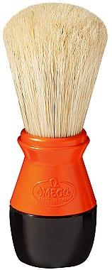 Помазок для бритья, 40099, оранжевый - Omega — фото N1