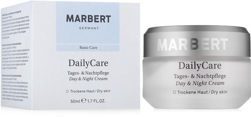 Глубоко питательный крем для лица - Marbert Daily Care Day & Night Cream