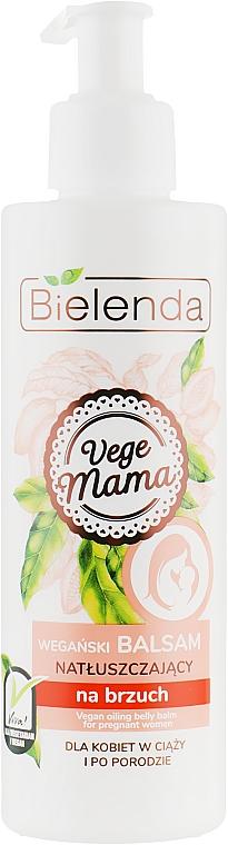 Увлажняющий бальзам для кожи живота у беременных - Bielenda Vege Mama Balm