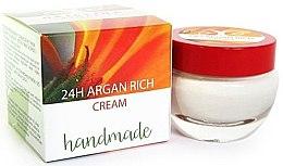 Духи, Парфюмерия, косметика Крем с маслом арганы - Hristina Cosmetics Handmade 24H Argan Rich Cream