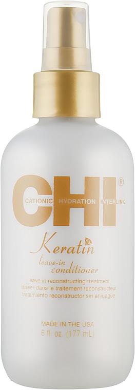 Несмываемый кератиновый кондиционер для волос - CHI Keratin Weightless Leave in Conditioner