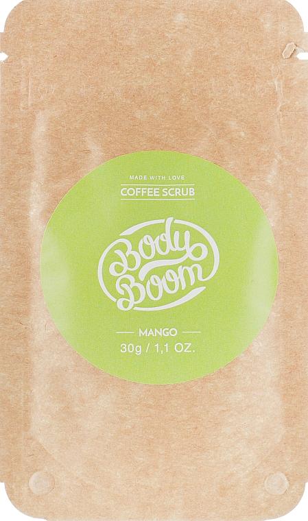 Кофейный скраб, манго - BodyBoom Coffee Scrub Mango