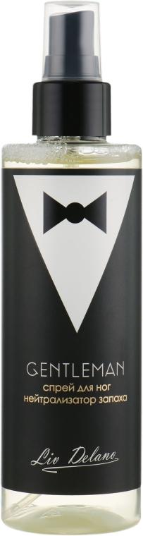 Спрей для ног нейтрализатор запаха - Liv Delano Gentleman