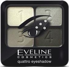 Духи, Парфюмерия, косметика Тени для век - Eveline Cosmetics Quattro Eye Shadow