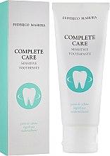 Парфумерія, косметика Зубна паста для чутливих зубів - Federico Mahora Complete Care