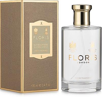 Floris Sandalwood & Patchouli Room Fragrance Spray - Аромат для дома — фото N1
