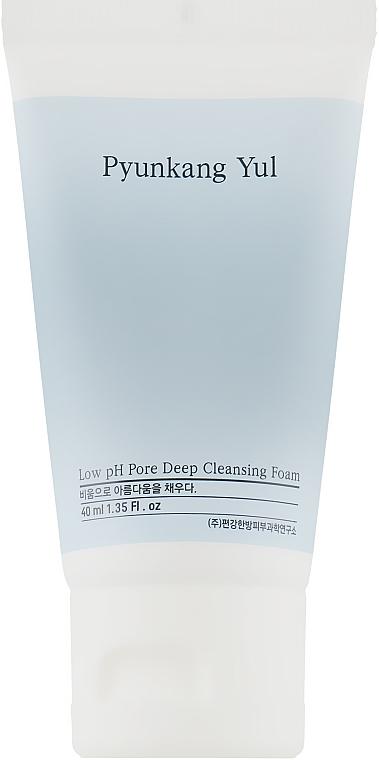 Глубоко очищающая пенка с низким pH - Pyunkang Yul Pore Deep Cleansing Foam (Travel size)