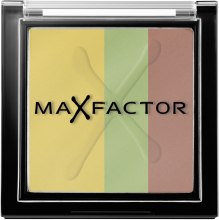 Духи, Парфюмерия, косметика Тройные тени для век - Max Factor Max Effect Trio Eye Shadows