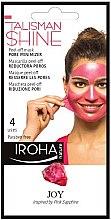 Духи, Парфюмерия, косметика Маска-пилинг для лица - Iroha Nature Peel Off Pink Sapphire Pore Minimizer