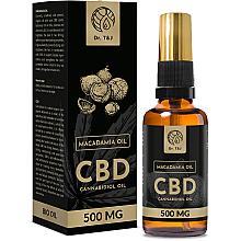 Духи, Парфюмерия, косметика Натуральное масло макадамии CBD 500mg - Dr. T&J Bio Oil