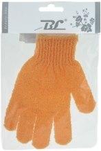 Духи, Парфюмерия, косметика Мочалка-перчатка банная, оранжевая - Beauty Line