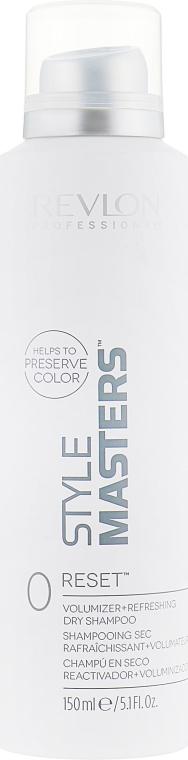 Сухой шампунь освежающий прическу и придающий объем волосам - Revlon Professional Style Masters Double or Nothing Dorn Reset