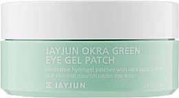 Духи, Парфюмерия, косметика Укрепляющие гидрогелевые патчи с экстрактом плодов окры - Jayjun Okra Green Eye Gel Patch