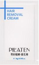 Духи, Парфюмерия, косметика Крем для депиляции - Pil'aten Hair Removal Cream (пробник)