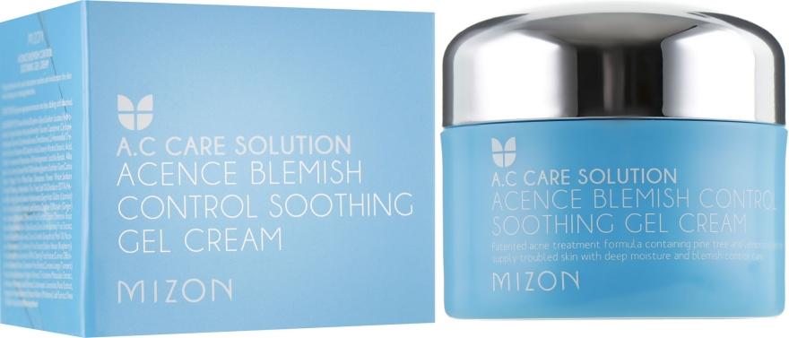 Комплексный гель-крем для проблемной кожи лица - Mizon Acence Blemish Control Soothing Gel Cream