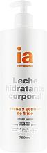 Духи, Парфюмерия, косметика Увлажняющее крем-молочко для тела с экстрактом овса с дозатором - Interapothek Leche Hidratante Corporal