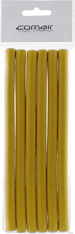 "Бигуди ""Flex"" желтые 170mm, d10 - Comair"