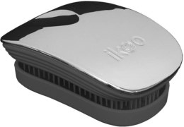 Духи, Парфюмерия, косметика УЦЕНКА Расческа для волос - Ikoo Pocket Oyster Metallic Black *
