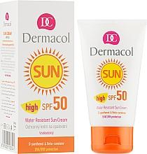 Крем для засмаги SPF 50 водостійкий, пом'якшувальний - Dermacol Sun Cream — фото N1