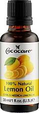 Духи, Парфюмерия, косметика Натуральное масло лимона - Cococare Lemon Oil