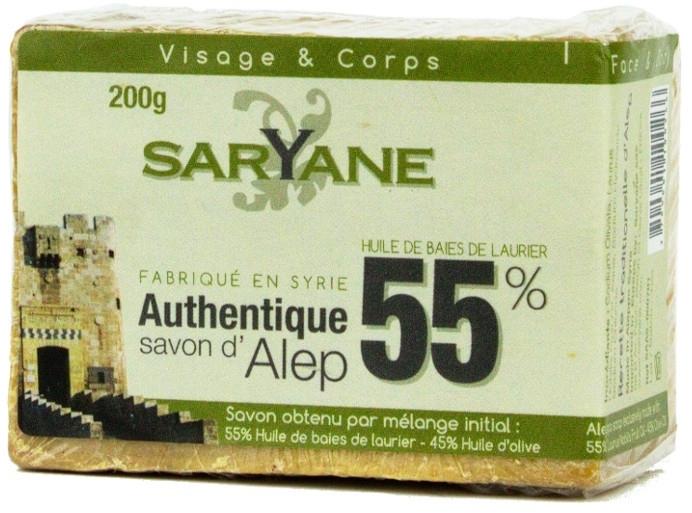 Мыло - Saryane Authentique Savon DAlep 55%