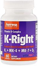Духи, Парфюмерия, косметика Комплекс витамина К - Jarrow Formulas K-Right