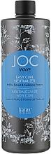 Духи, Парфюмерия, косметика Нейтрализатор для завивки - Barex Italiana Joc Wave Easy Curl Neutralizer