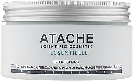 Духи, Парфюмерия, косметика Восстанавливающая и успокаивающая маска с экстрактом зеленого чая - Atache Essentielle Reafirming Mask Green Tea