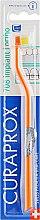 """Духи, Парфюмерия, косметика Монопучковая зубная щетка """"Single CS 708"""", оранжево-желтая - Curaprox"""