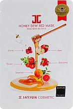 Духи, Парфюмерия, косметика Маска витаминная целлюлозная с красным комплексом - Jayjun Honey Dew Red Mask
