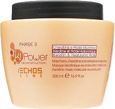 Парфумерія, косметика Кератинова маска для молекулярного відновлення - Echosline Ki Power