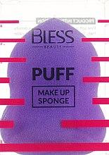 Духи, Парфюмерия, косметика Спонж грушевидный, фиолетовый - Bless Beauty PUFF Make Up Sponge